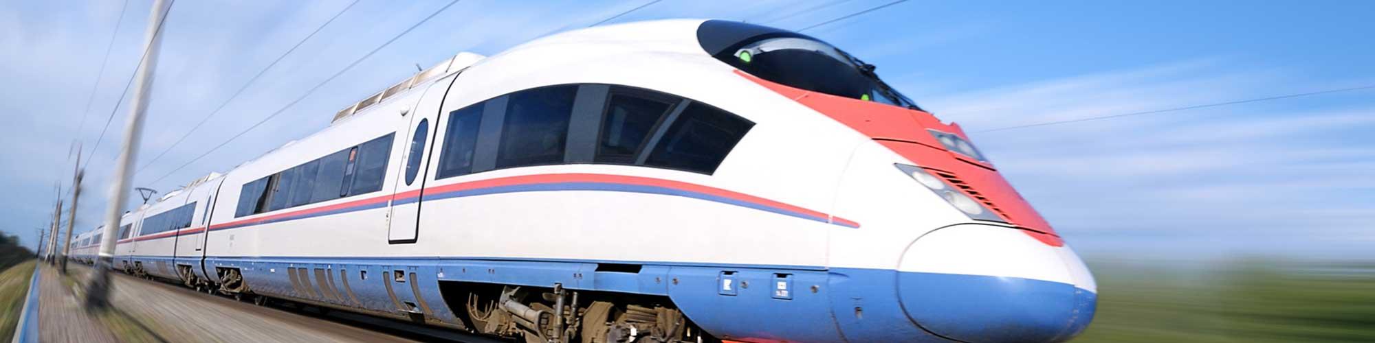 Кондиционирование в высокоскоростном поезде