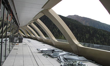 Гостиница в Швейцарии Давос
