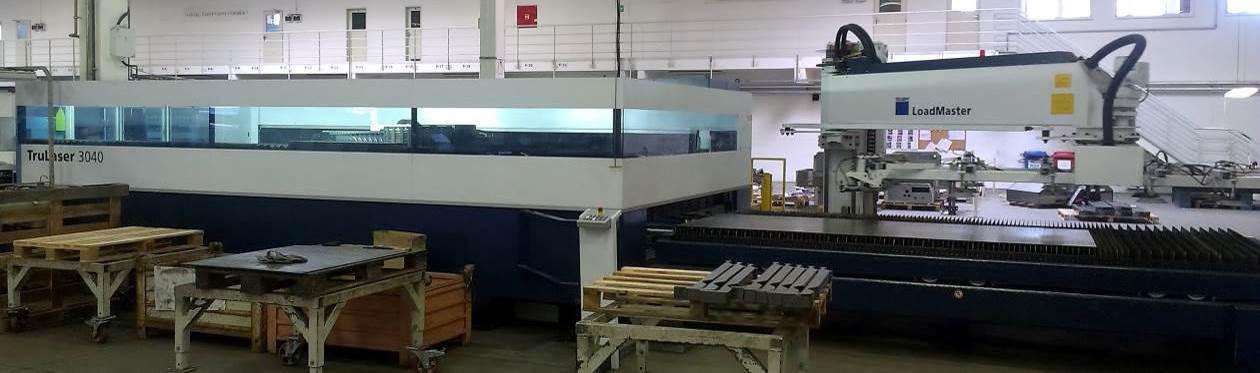 Stroj na zpracování plechu TruLaser 3040 2