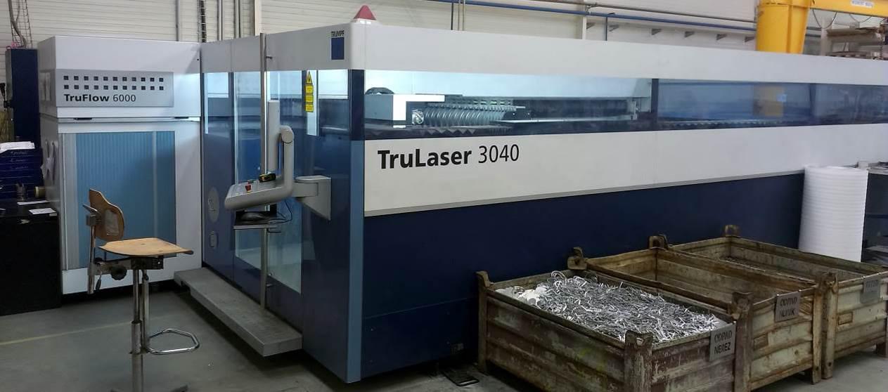 Stroj na zpracování plechu TruLaser 3040