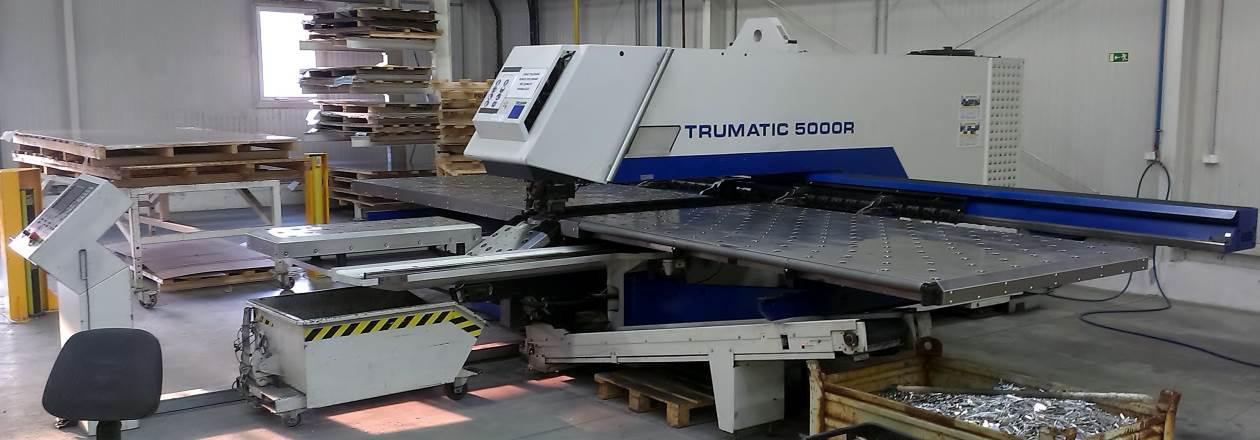 Stroj na zpracování plechů Trumatic 5000R