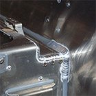 Aluminium and stainless steel welding