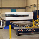 Laser, large format: 4,2 x 2,2 meters. <br> Force 6 kw. Rotolas. Fe, Al, stainless steel up to 25mm