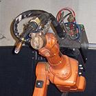 Schweißen von Fe Roboter ABB