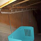 Painting room, zinc phosphate. <br> Size: 1,5 x 0,9 x 3,3 metres